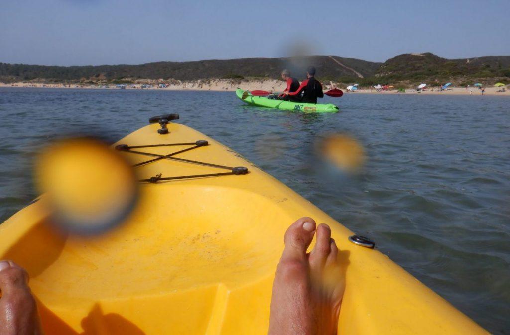 kayak - amoreira beach